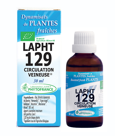 Lapht 129 Circulation Veineuse PHYTOFRANCE